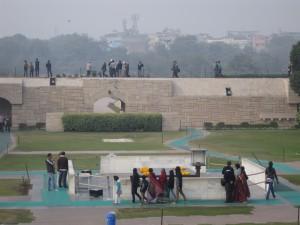 مقبره ی یاد بود مهاتما گاندی Gandhi