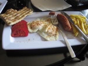 صبحانه انگلیسی با نون بربری!